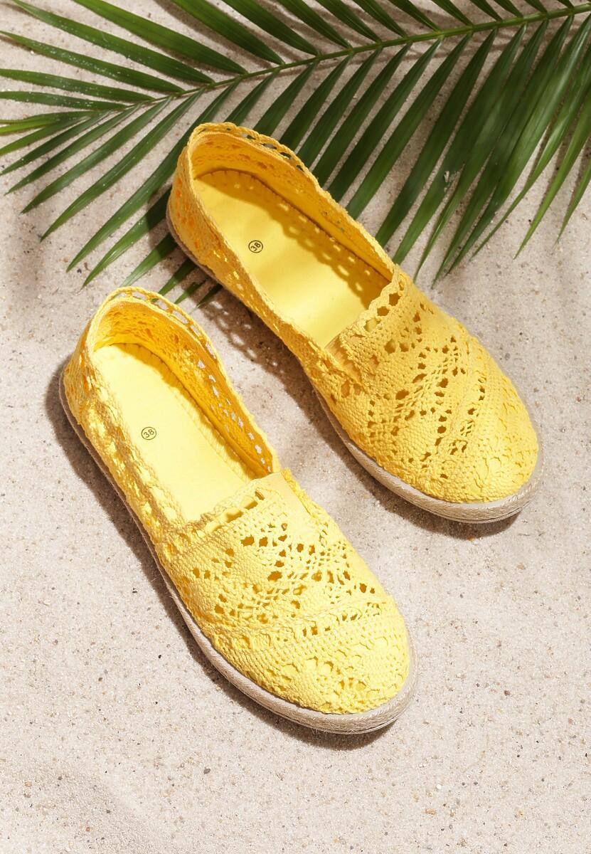 Żółte Espadryle Gratifyingly