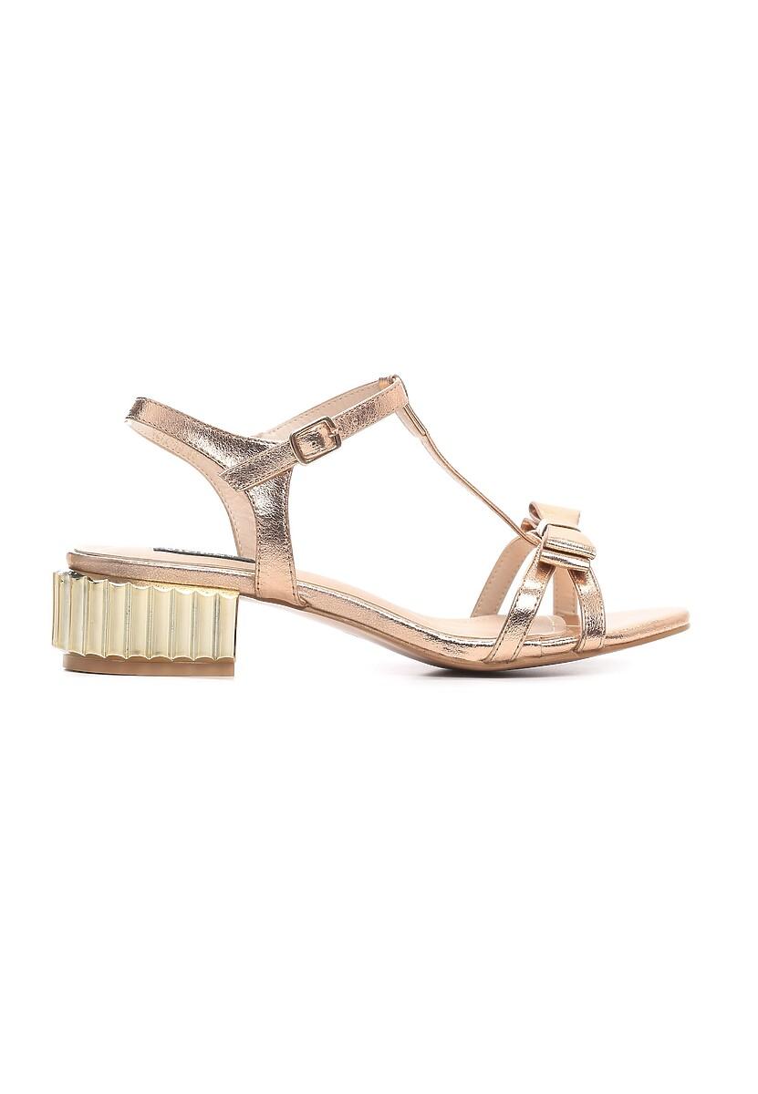 Szampańskie Sandały Brusque