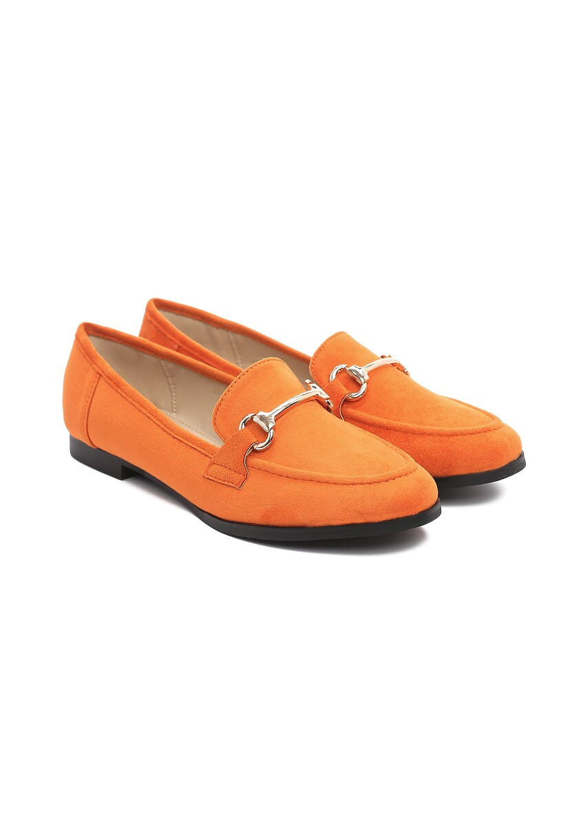 Pomarańczowe Mokasyny Deliberative
