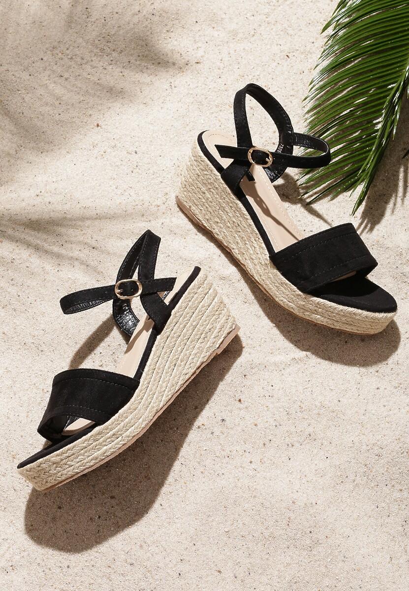 Czarne Sandały Furiously