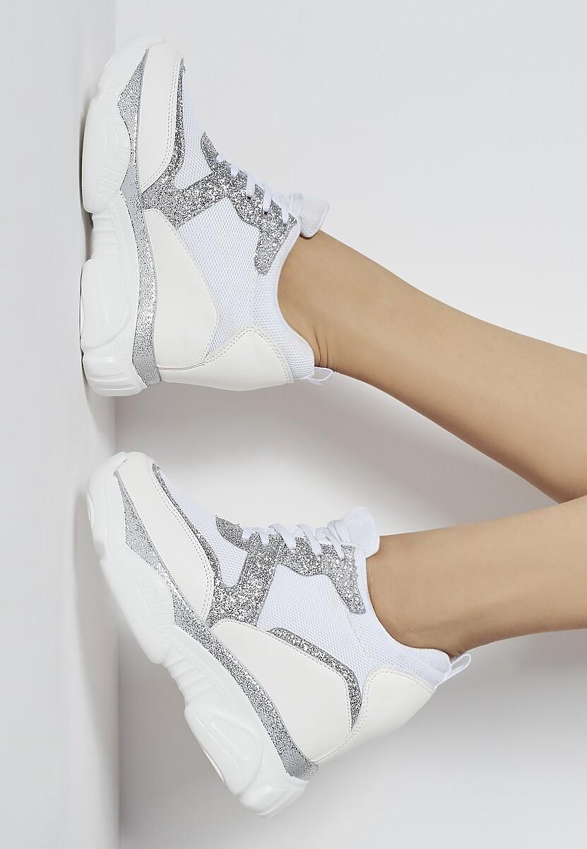Białe Sneakersy Modern