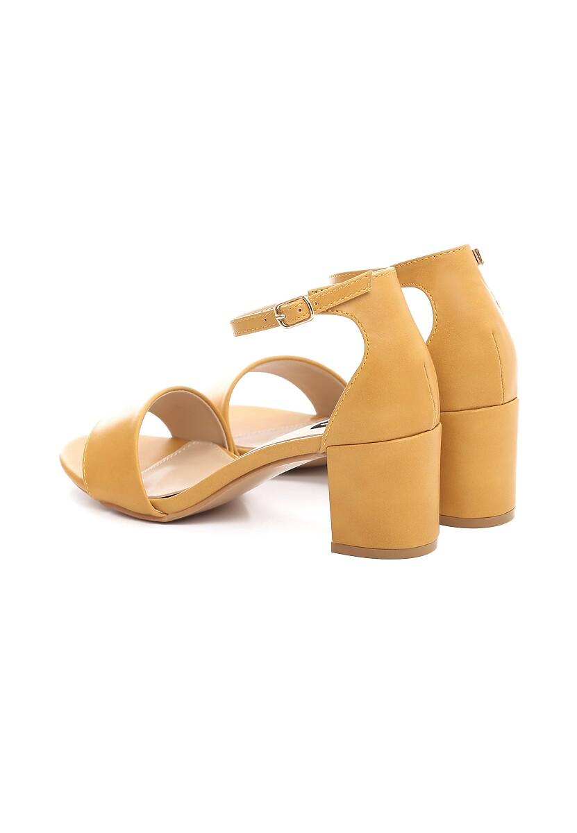 Żółte Sandały Madrigal