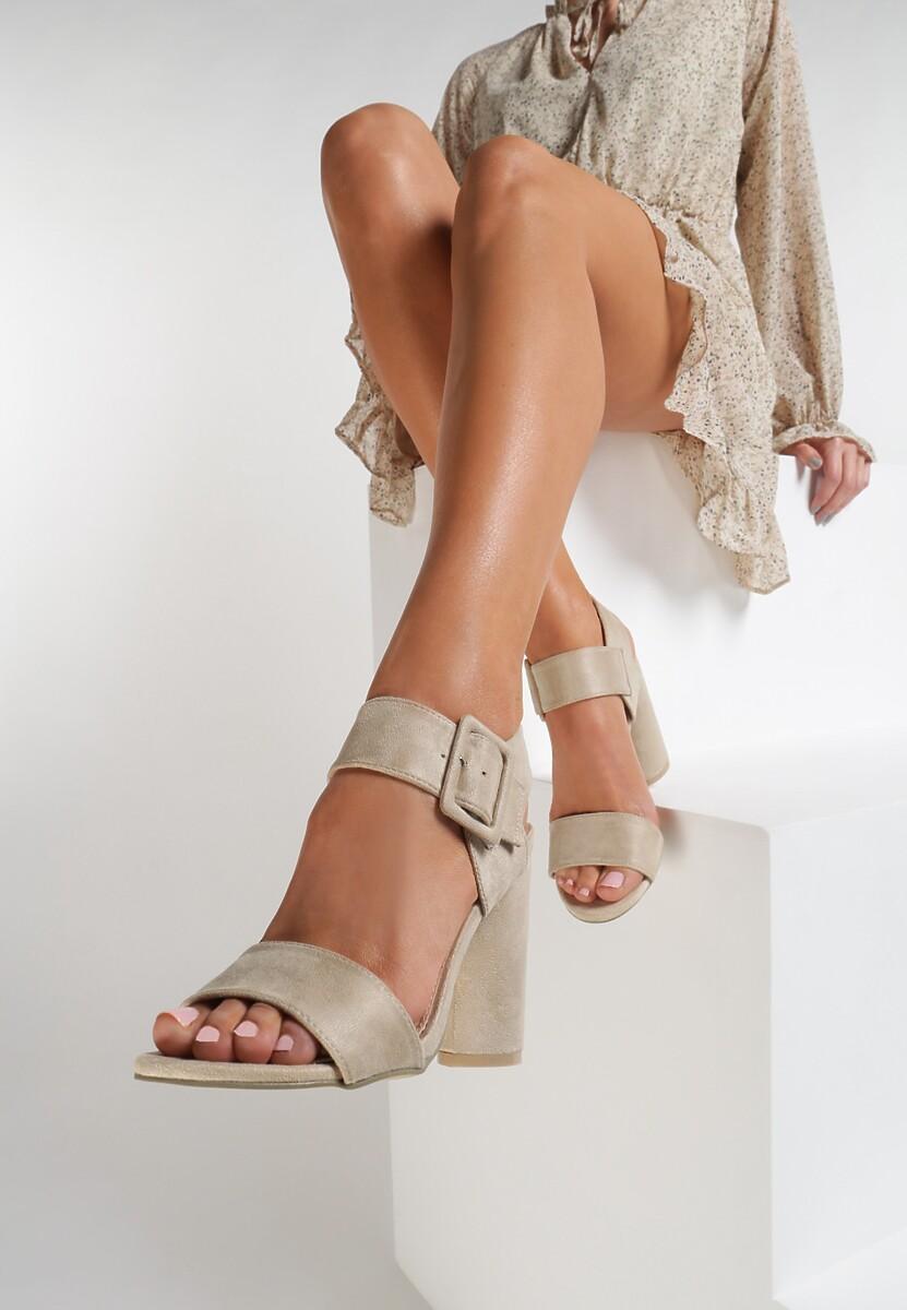 Beżowe Sandały Rooibos