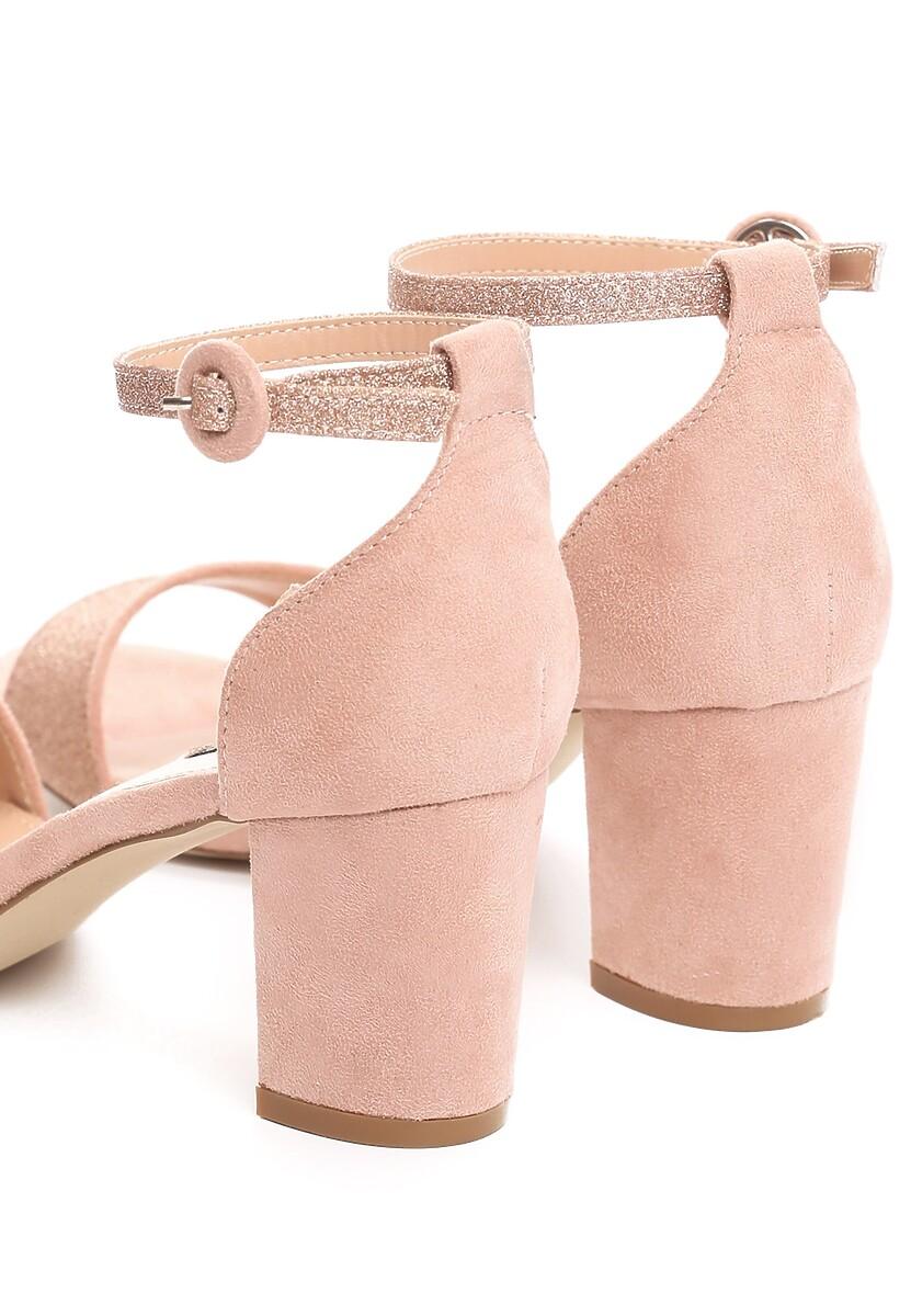 Różowe Sandały Unswerving