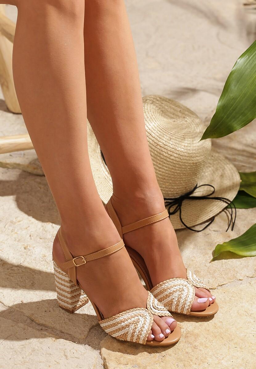 Beżowe Sandały Authenticated