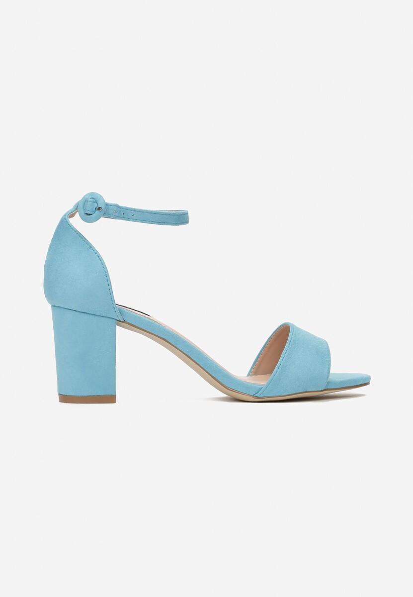 Niebieskie Sandały Simpleness