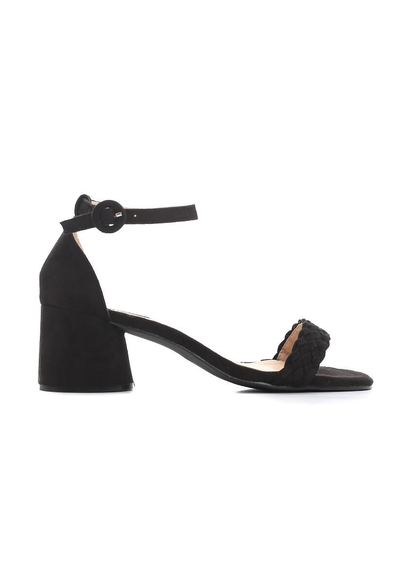 Czarne Sandały Danceaholic