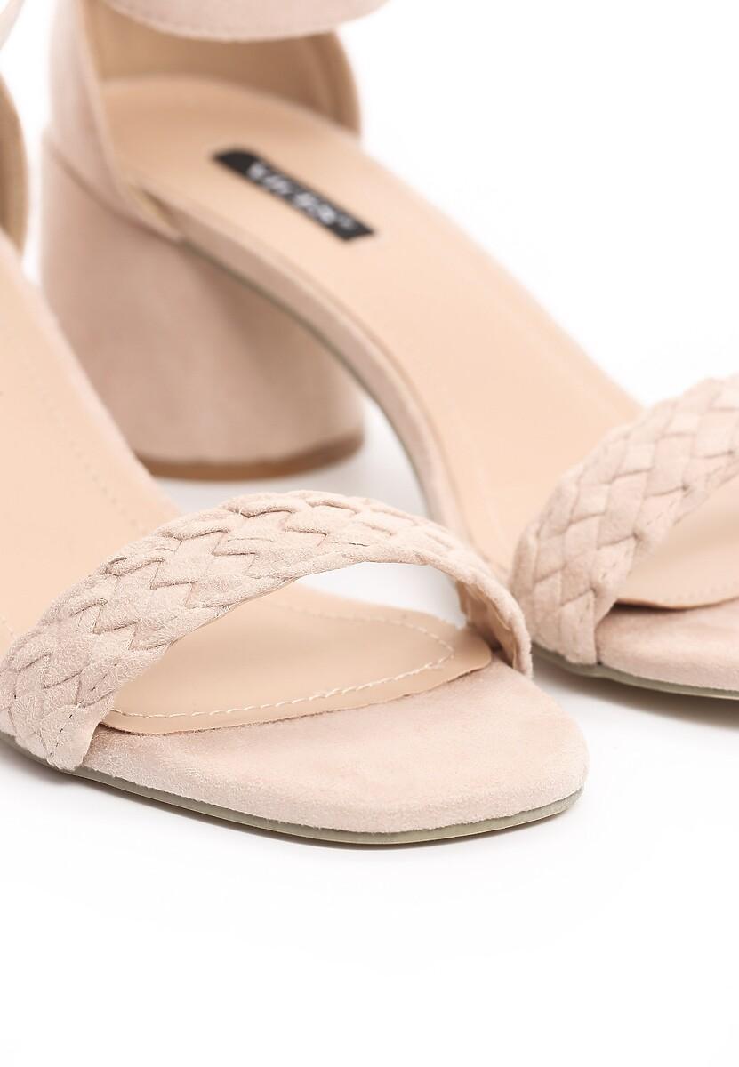 Beżowe Sandały Danceaholic