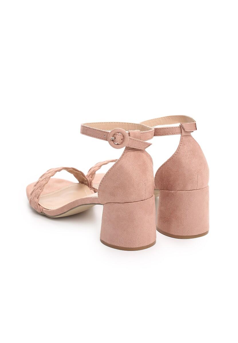 Różowe Sandały Danceaholic