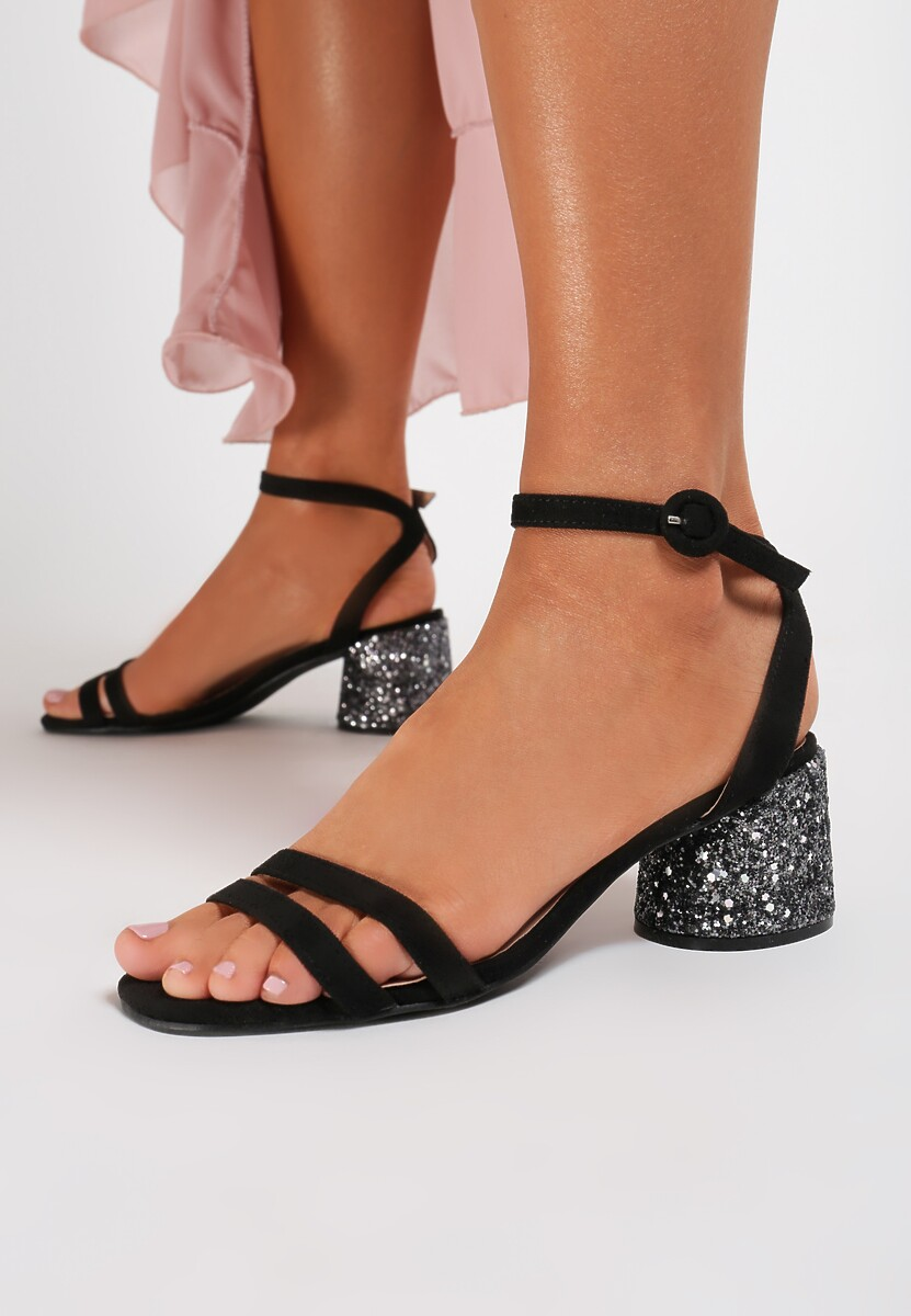 Czarne Sandały Noetic