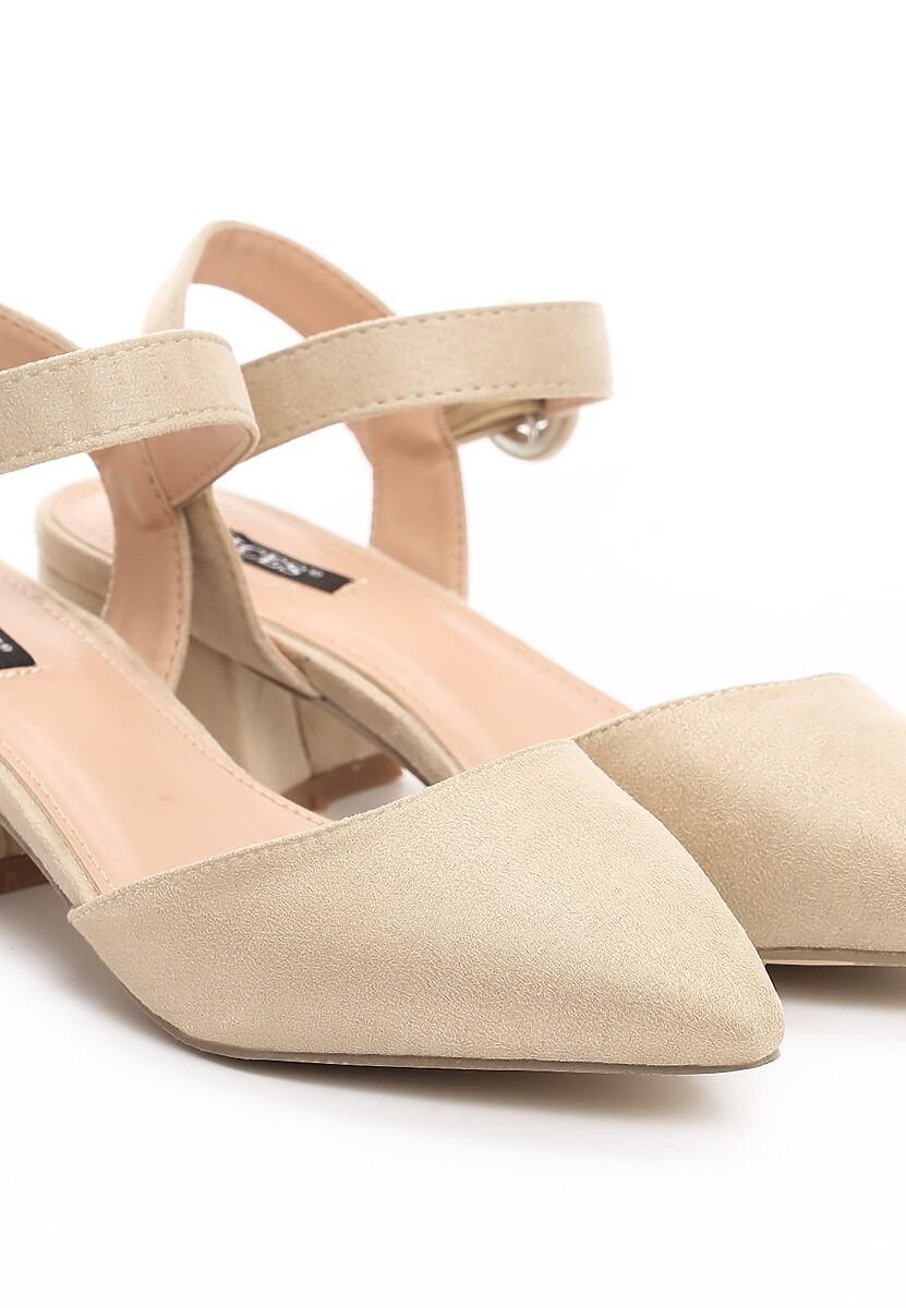 Beżowe Sandały Realm