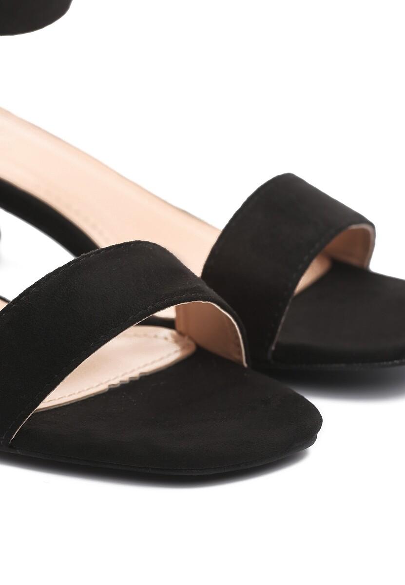 Czarne Sandały Sunfast
