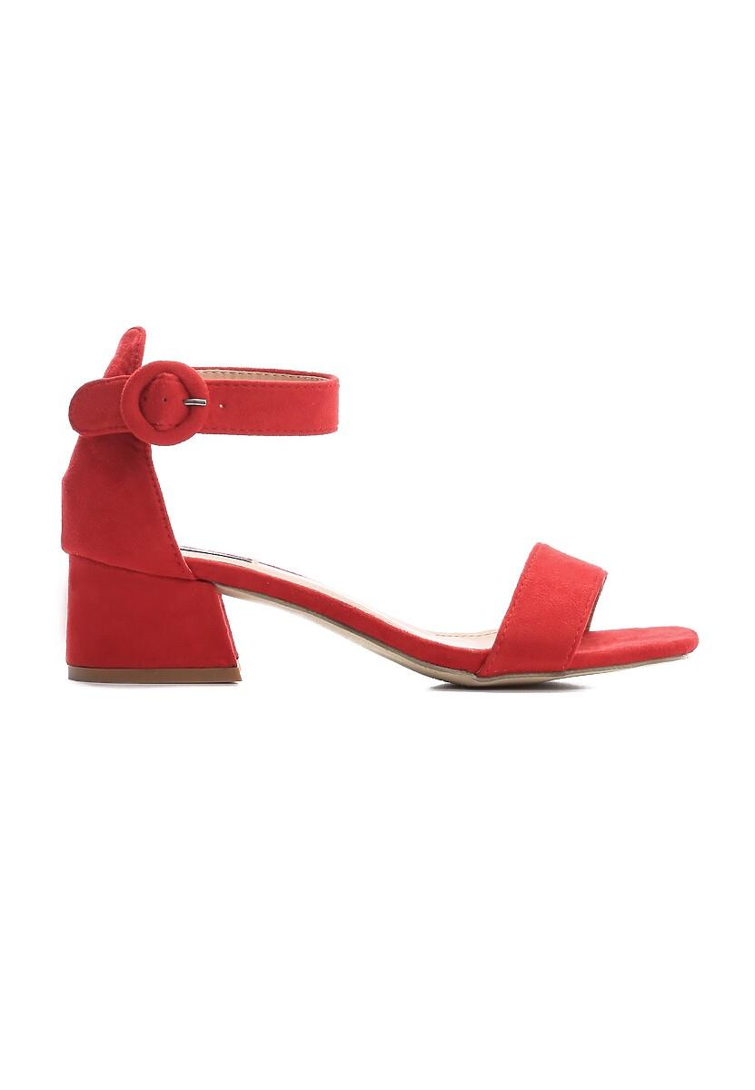 Czerwone Sandały Sunfast