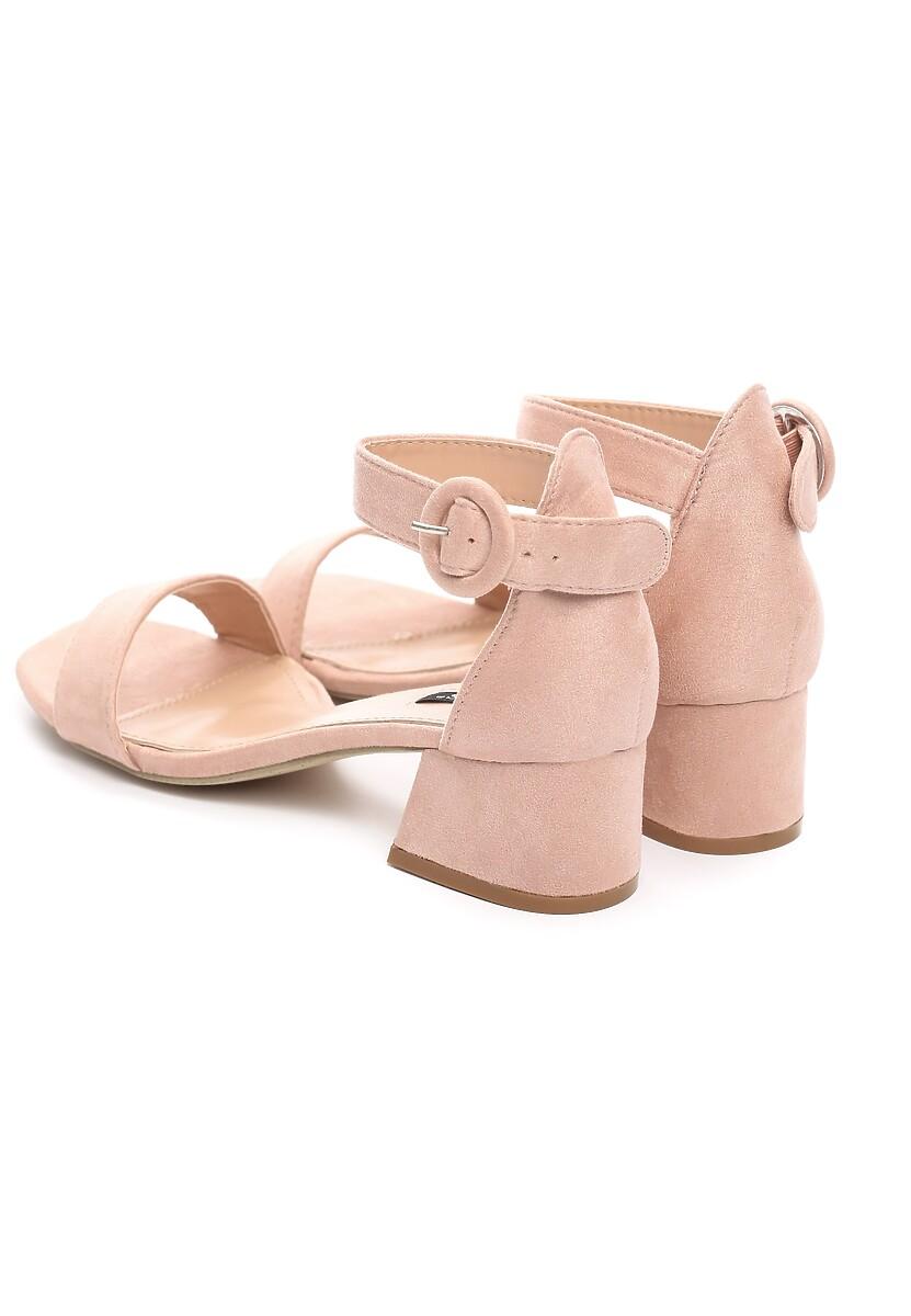 Różowe Sandały Sunfast