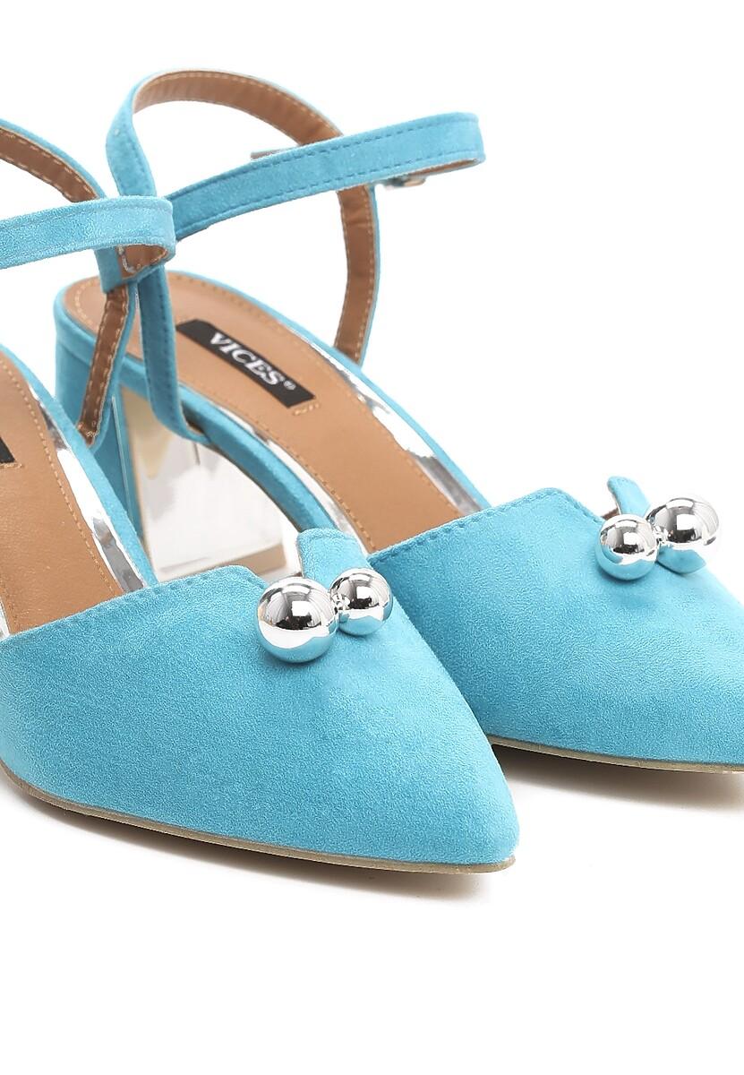Niebieskie Sandały On Ice