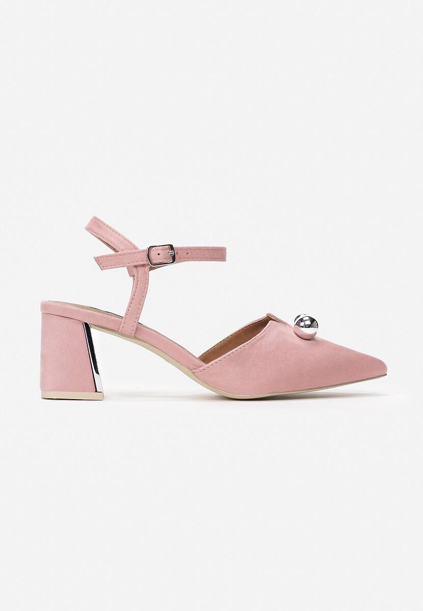 Różowe Sandały On Ice