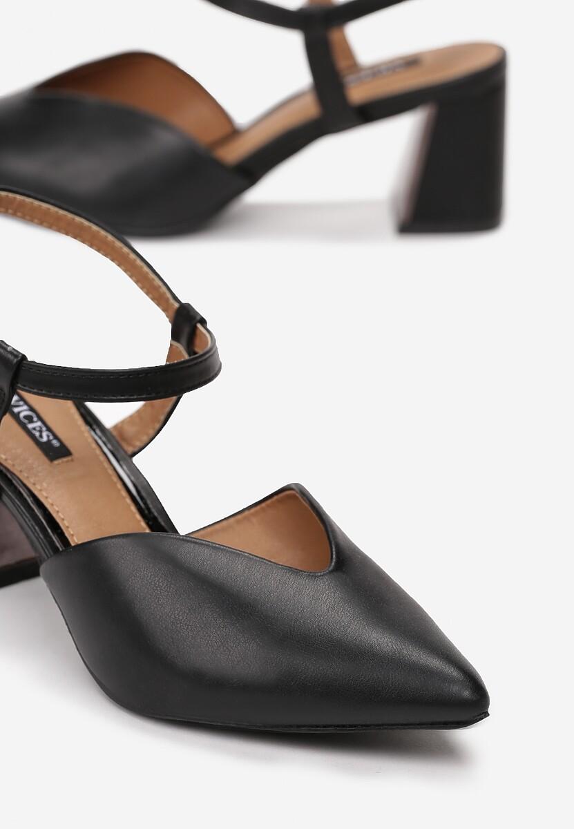 Czarne Sandały Sundance