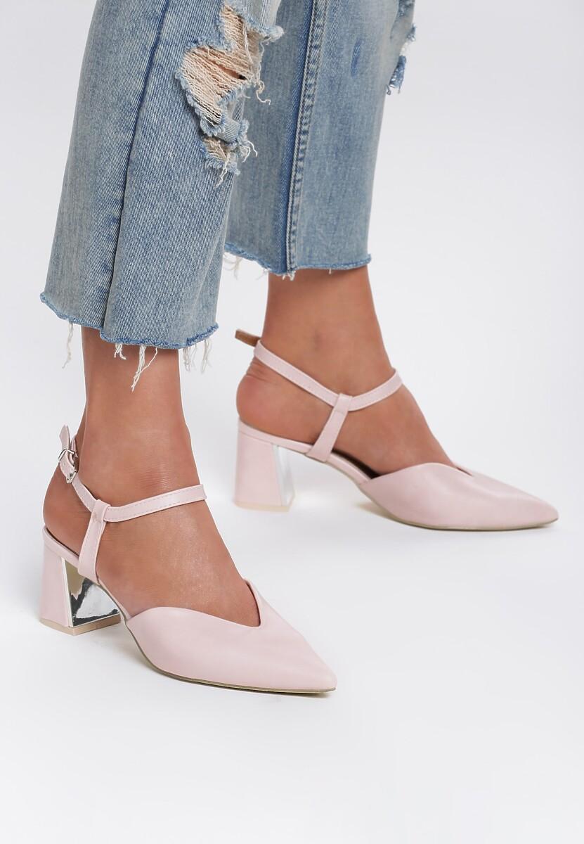 Różowe Sandały Sundance