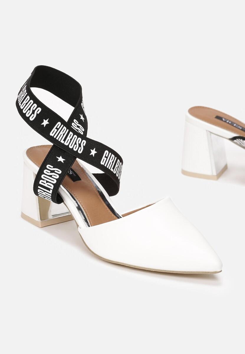 Białe Sandały Bopper