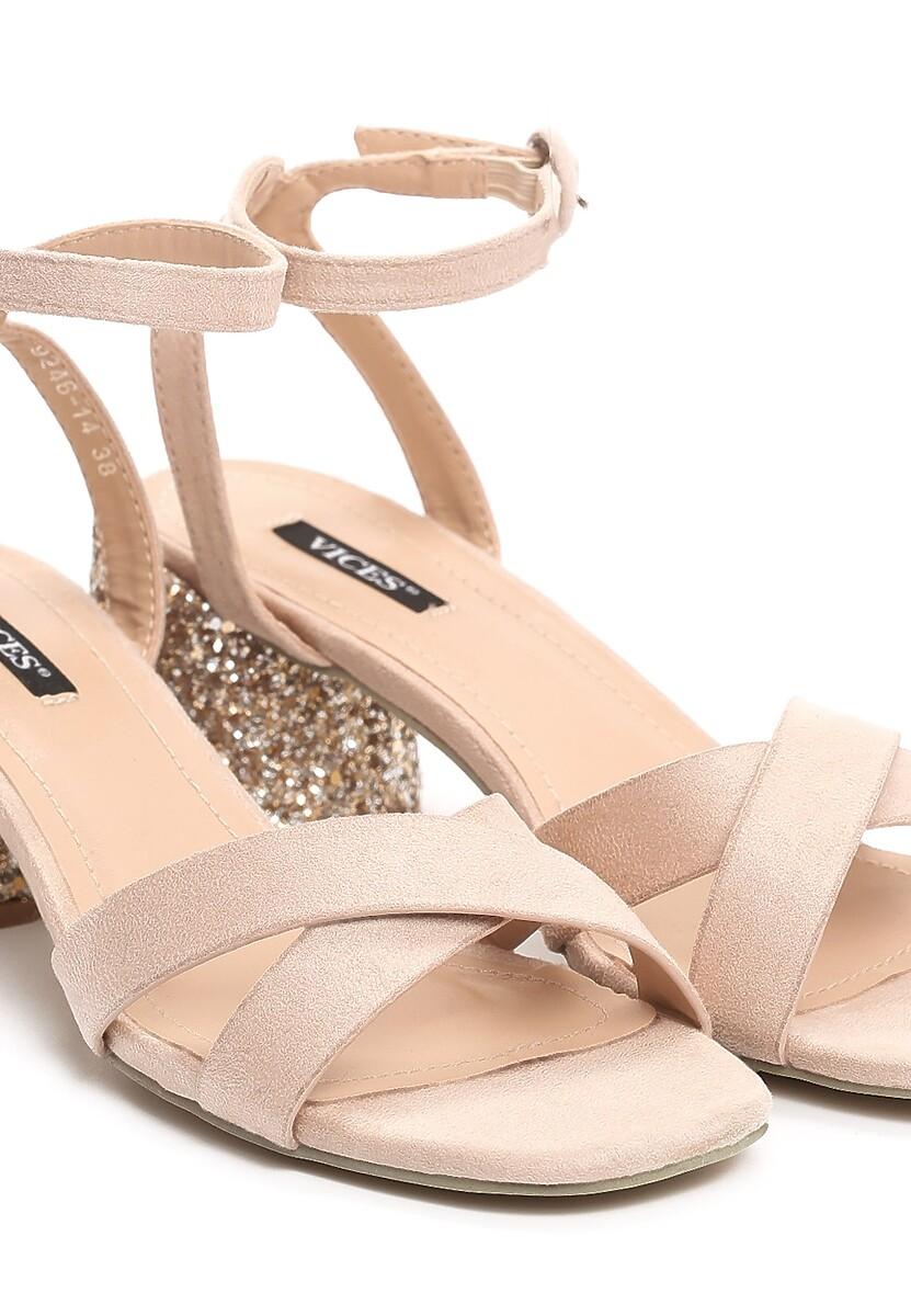 Beżowe Sandały Coladeira