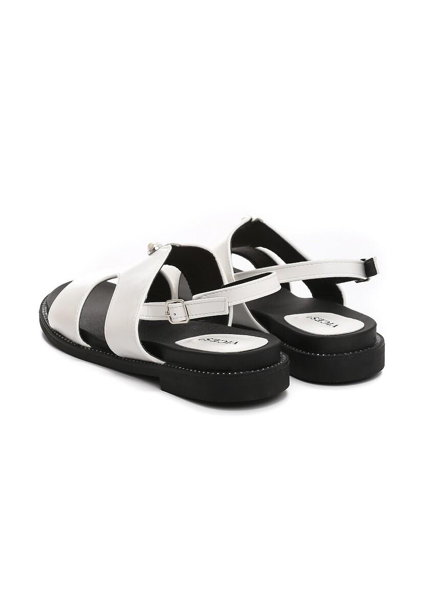 Białe Sandały Moringa