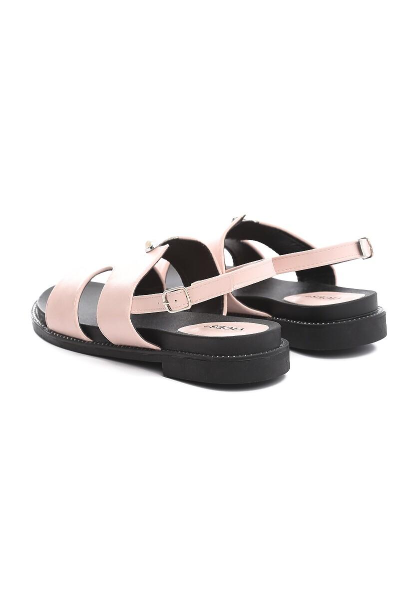 Różowe Sandały Moringa