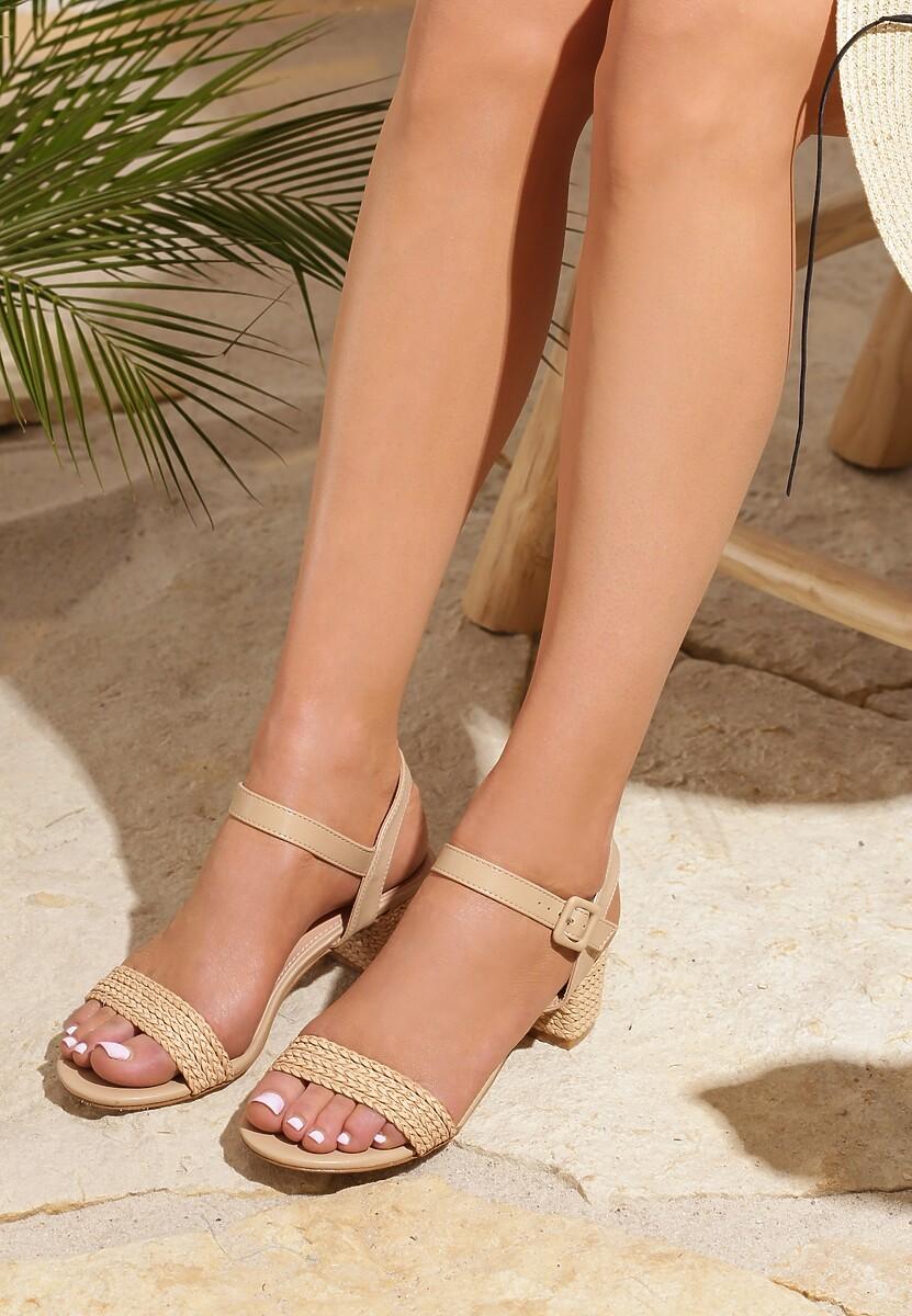 Beżowe Sandały Confirmed