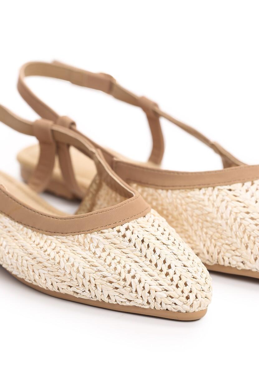 Beżowe Sandały Hanging In