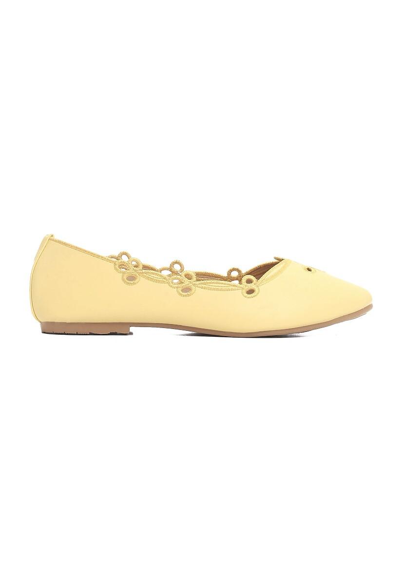 Żółte Balerinki Nonesuch