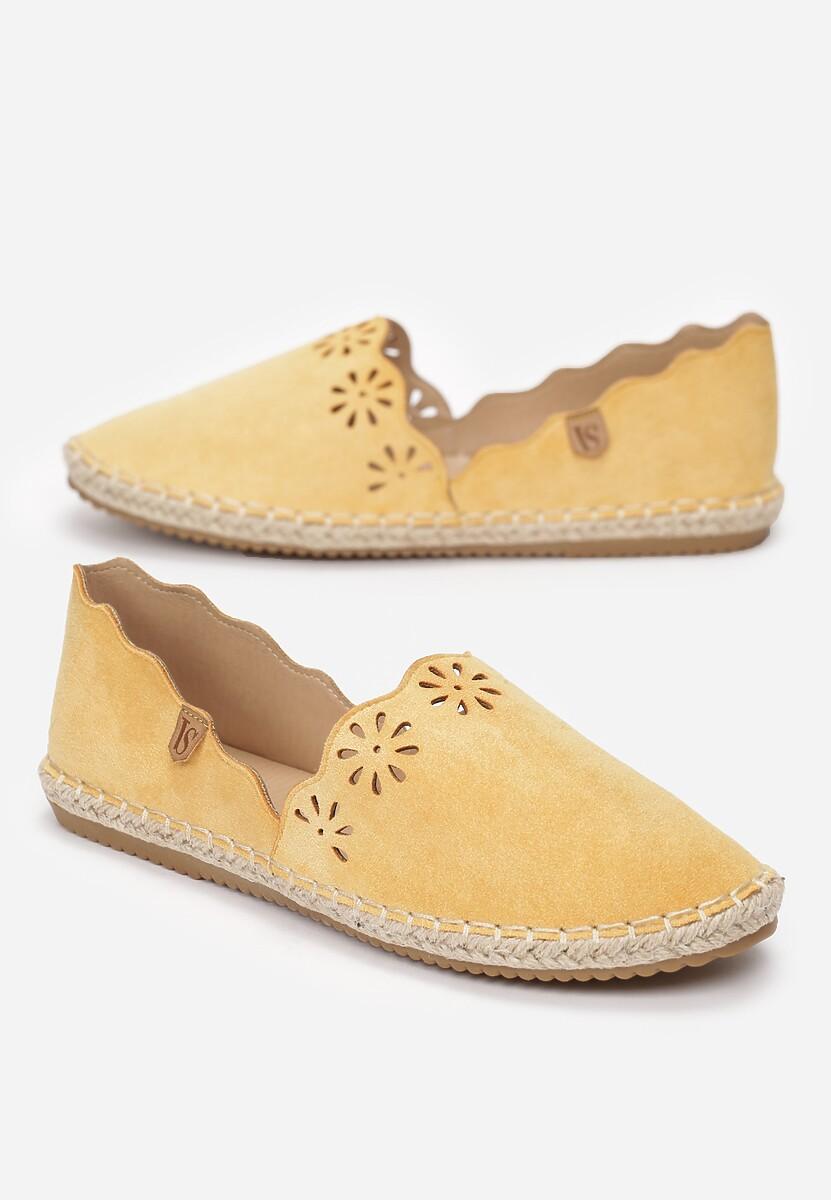 Żółte Espadryle Mooch