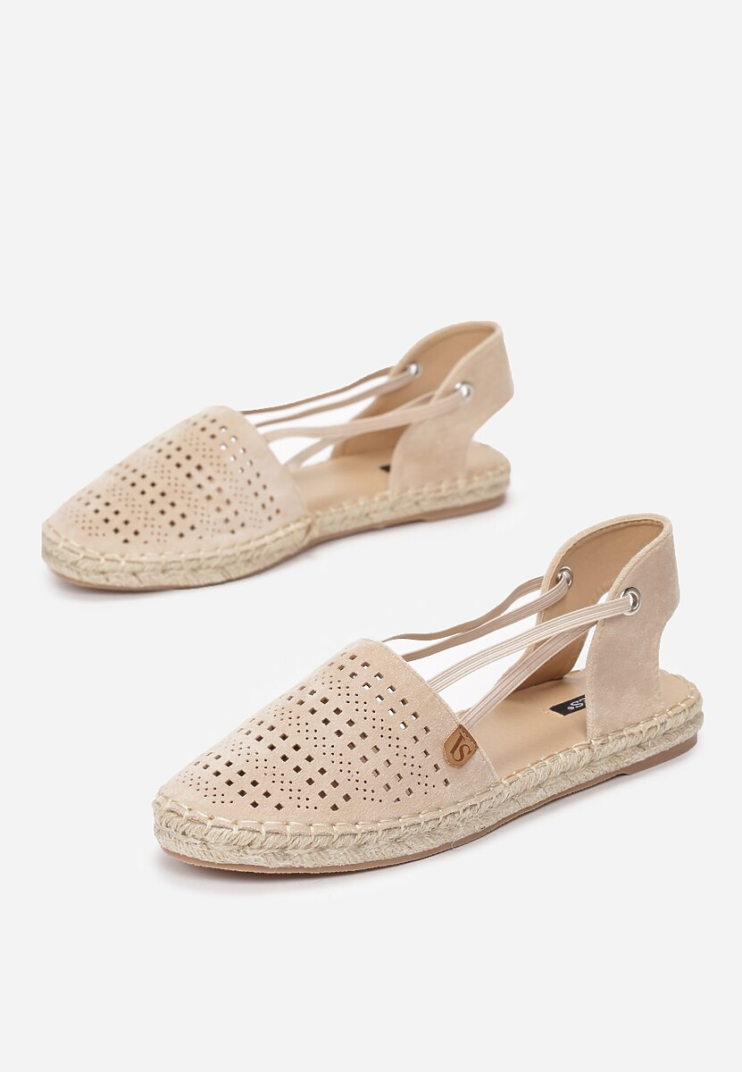 Beżowe Espadryle Want It