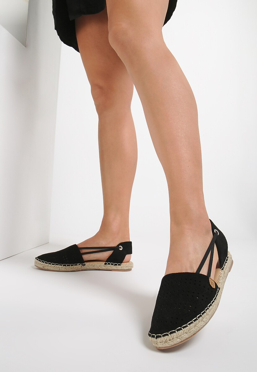 Czarne Espadryle Want It