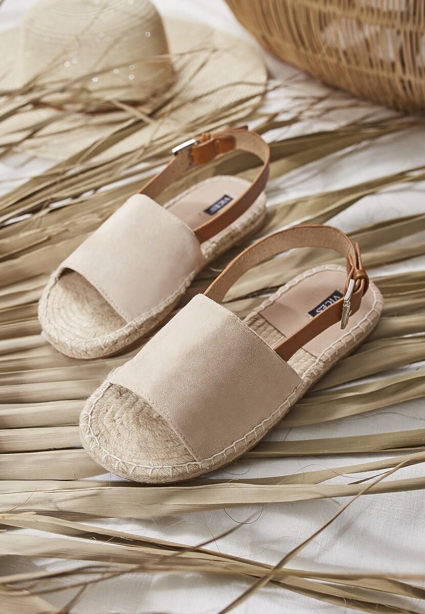 Beżowe Sandały Homeliness
