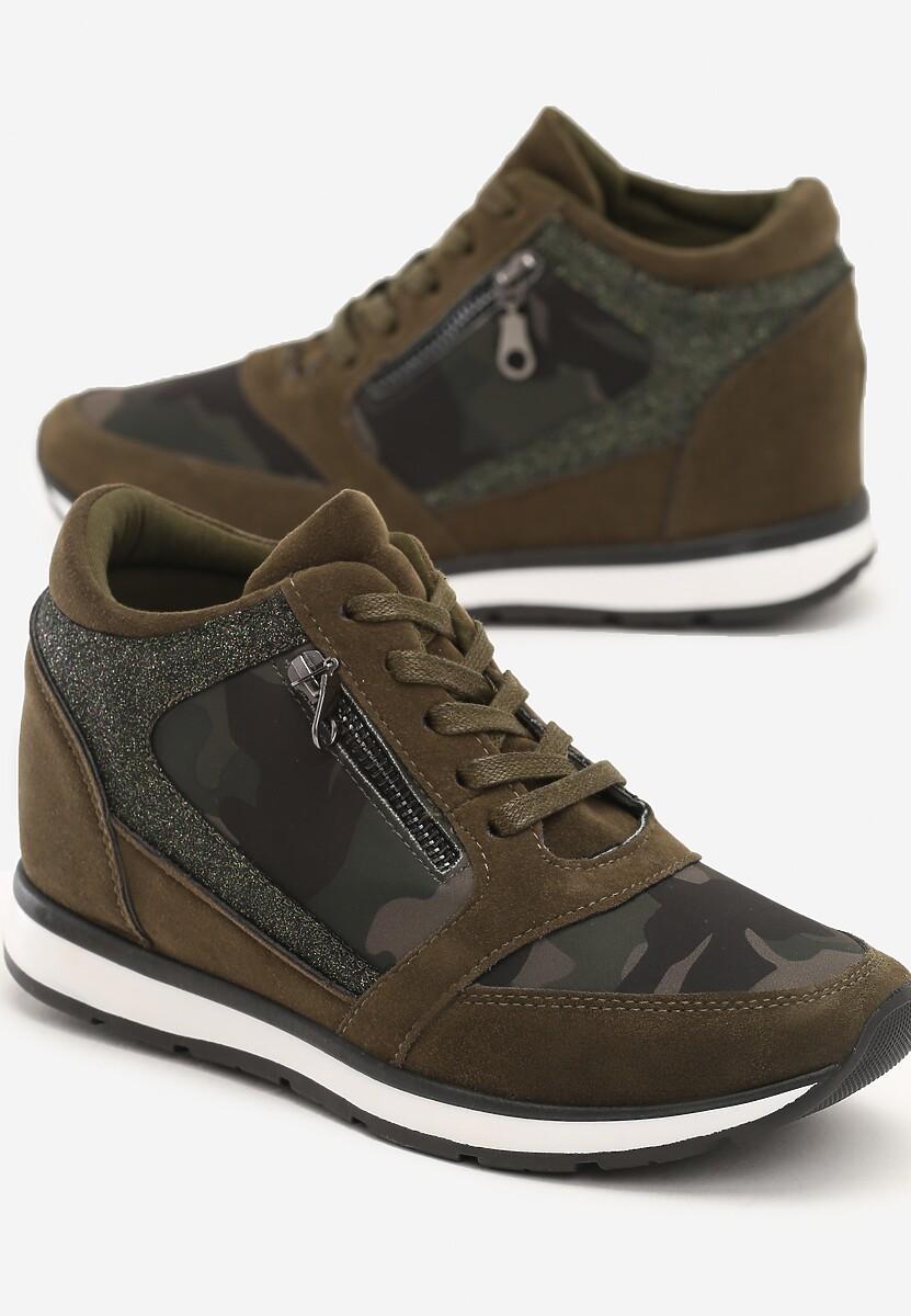 Khaki Sneakersy I Surrender