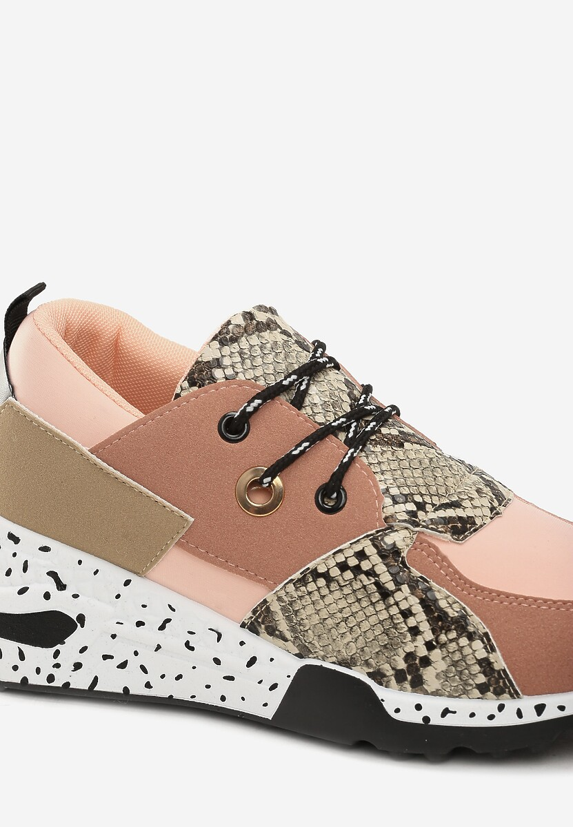 Różowe Sneakersy Coniferous