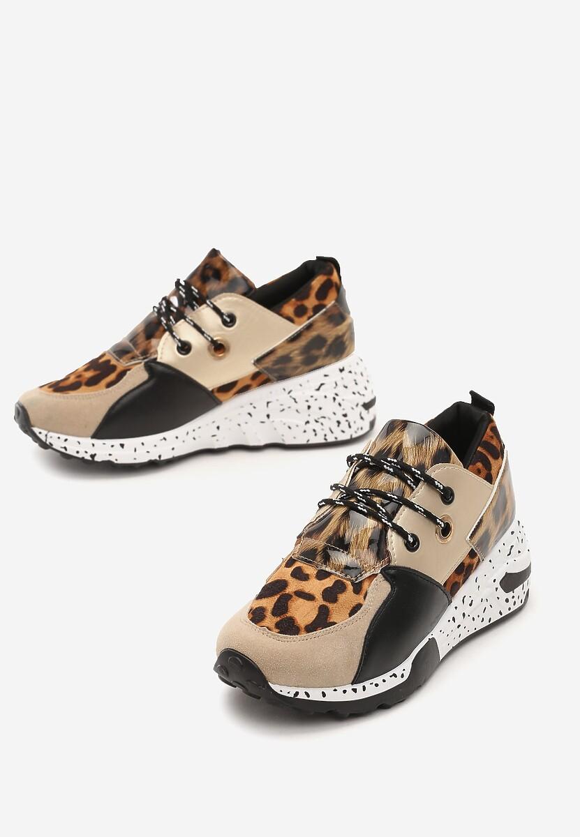 Złote Sneakersy Coniferous