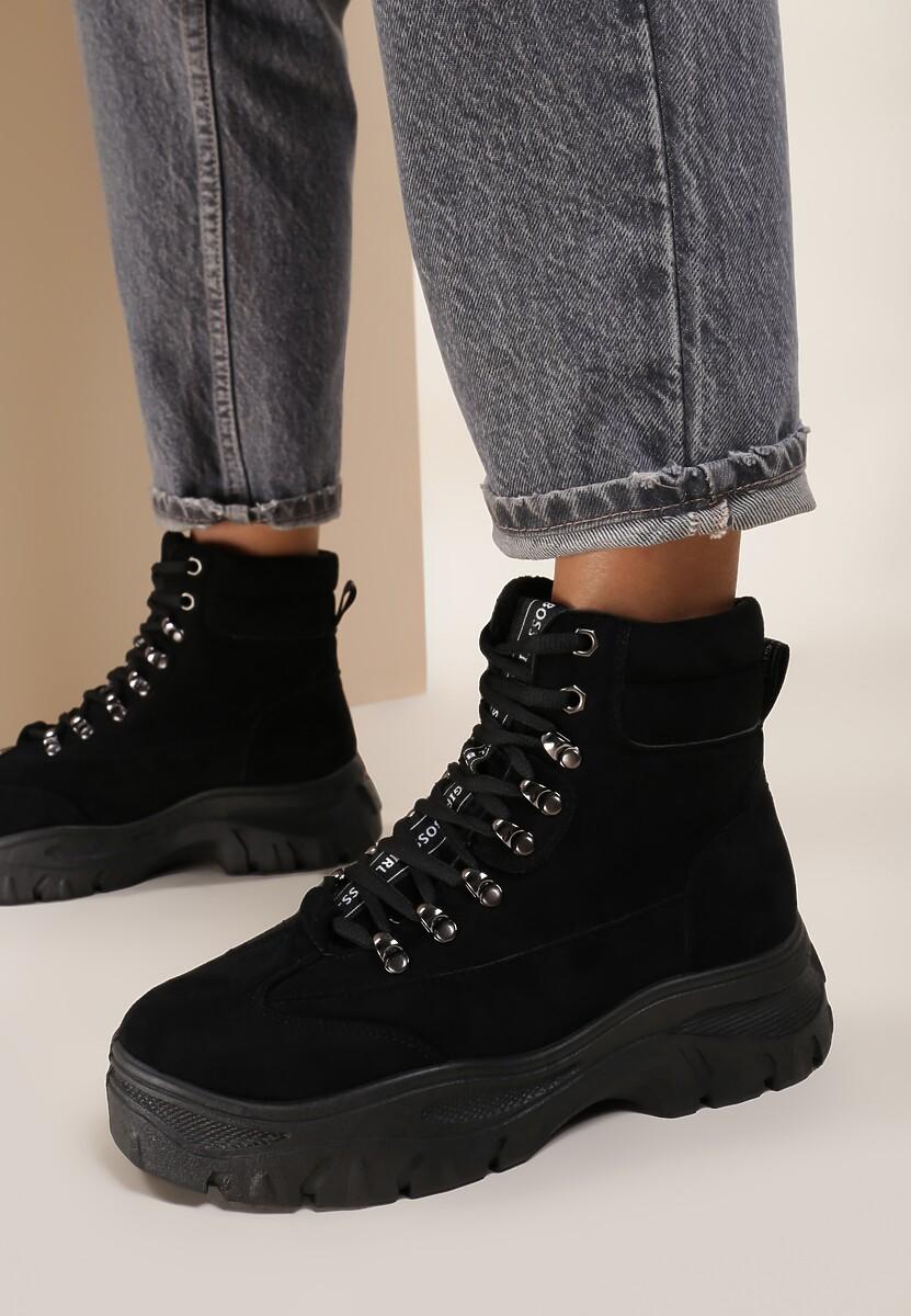 Czarne Sneakersy Chaparral