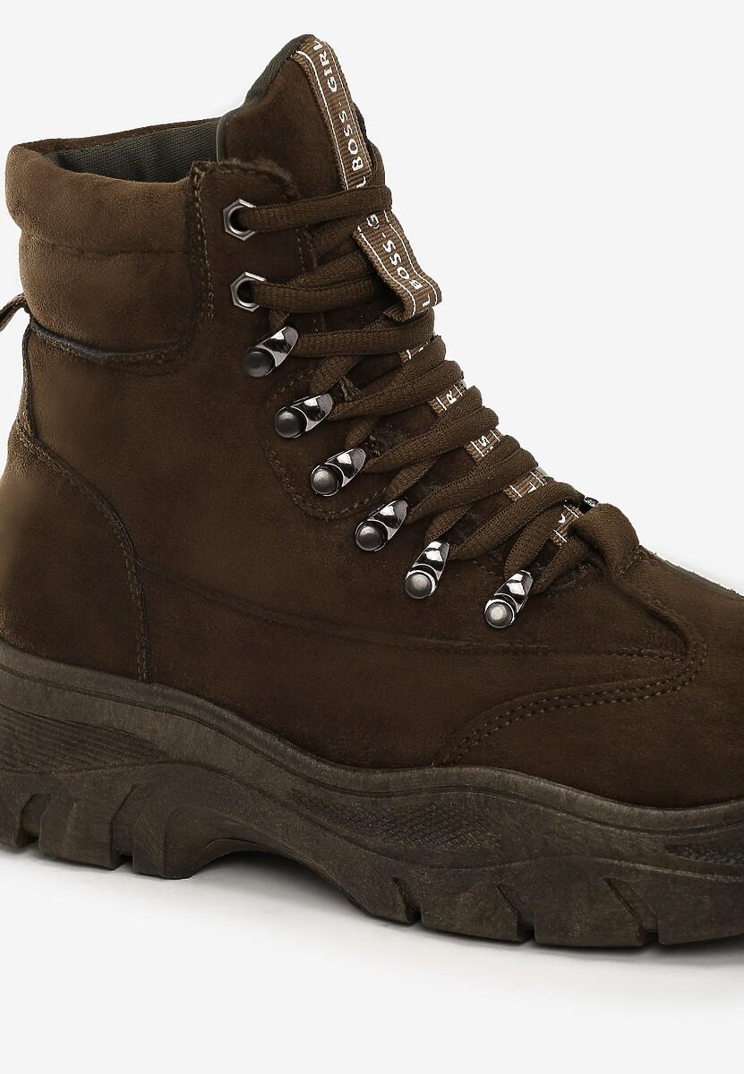 Oliwkowe Sneakersy Chaparral