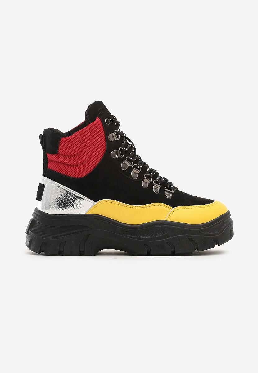 Czarne Sneakersy Calanques
