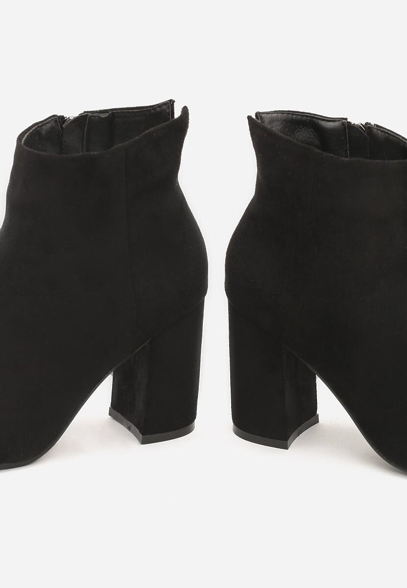 Czarne Botki Coulomb