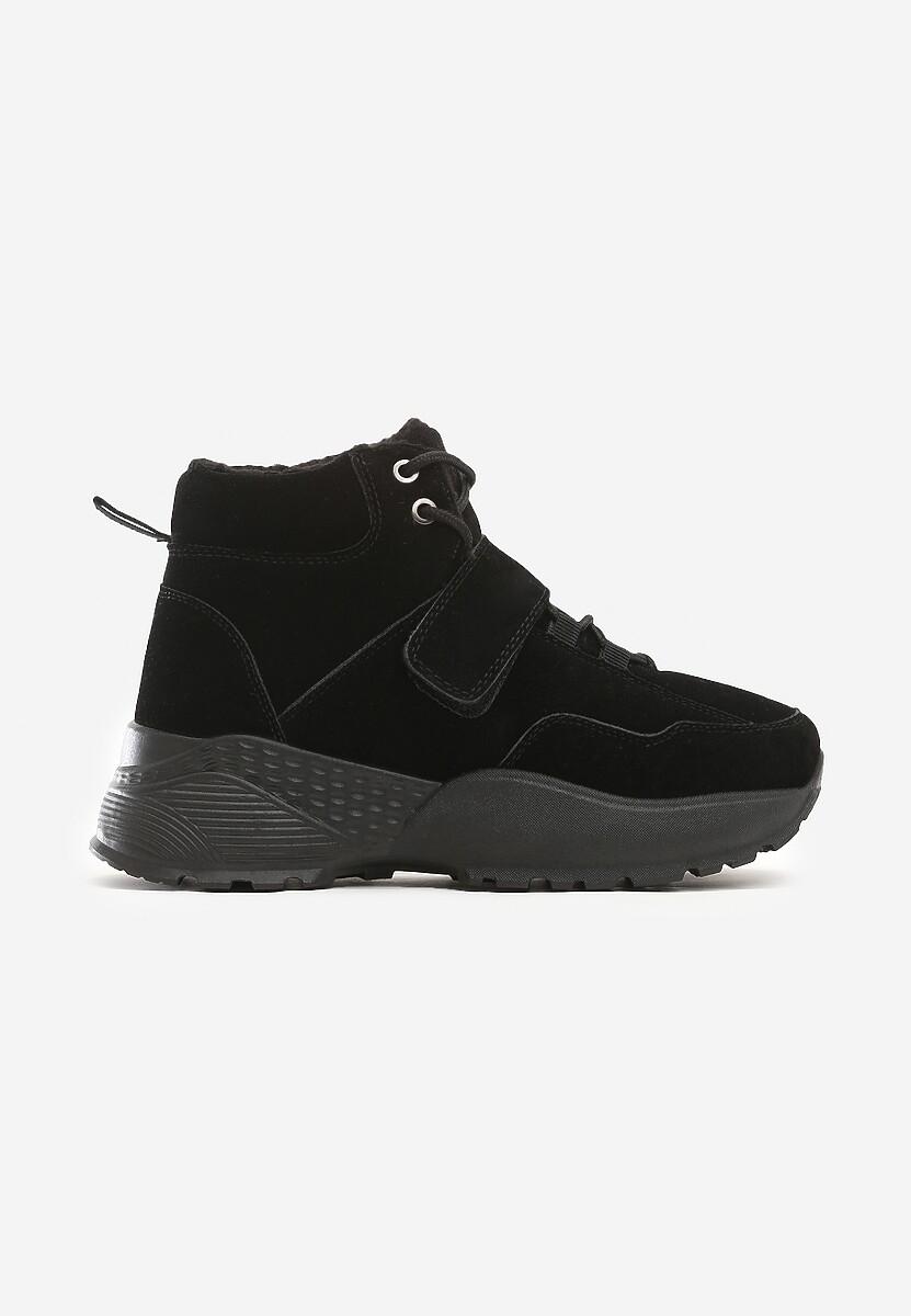 Czarne Sneakersy Edgecliff