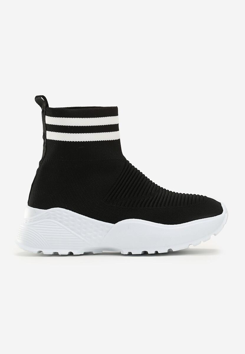 Czarno-Białe Sneakersy Lavras