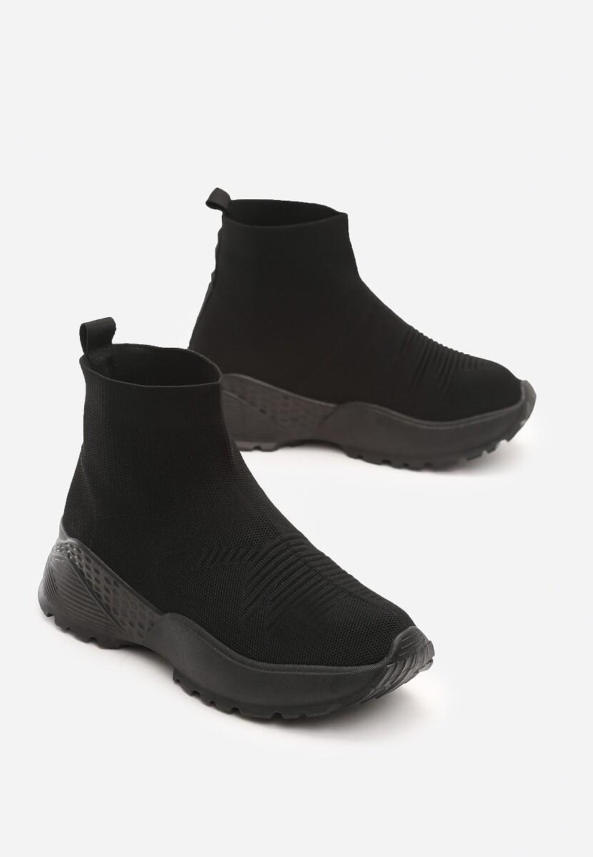 Czarne Sneakersy Bradley