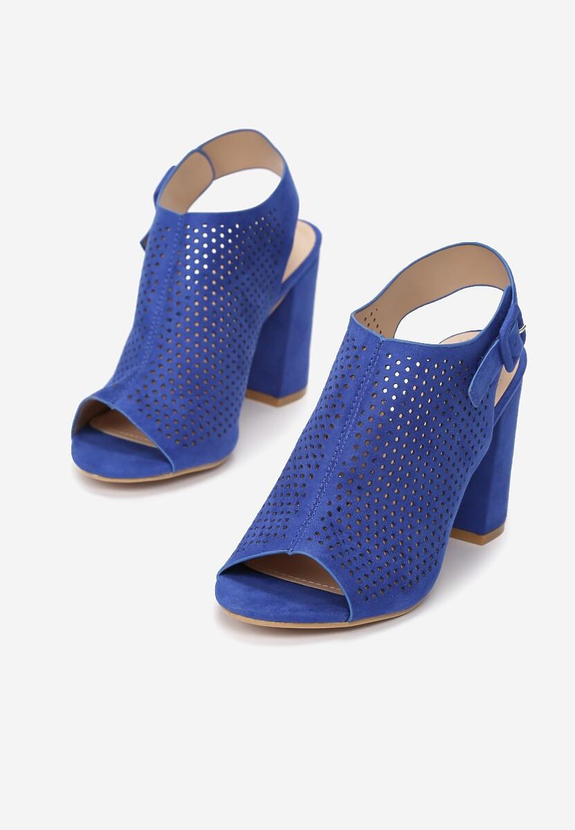 Niebieskie Sandały Aqiala