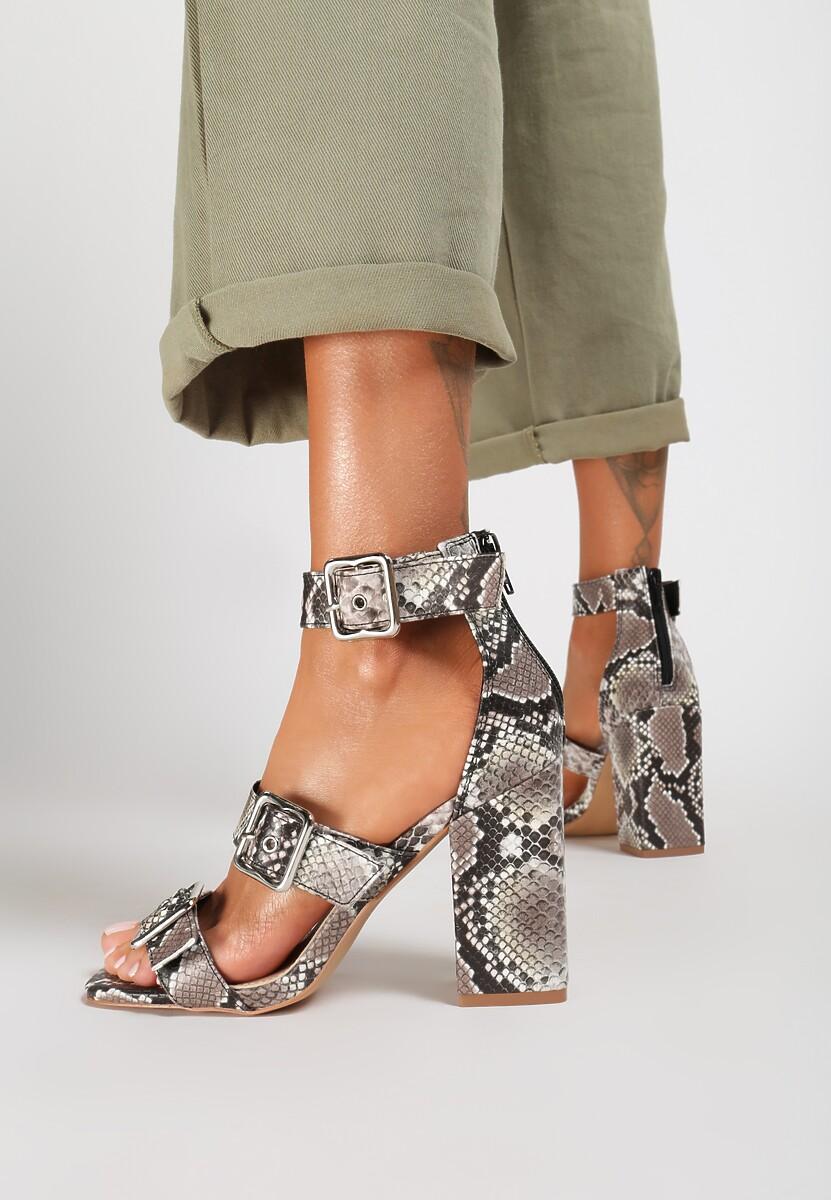 Wężowe Sandały Phialia
