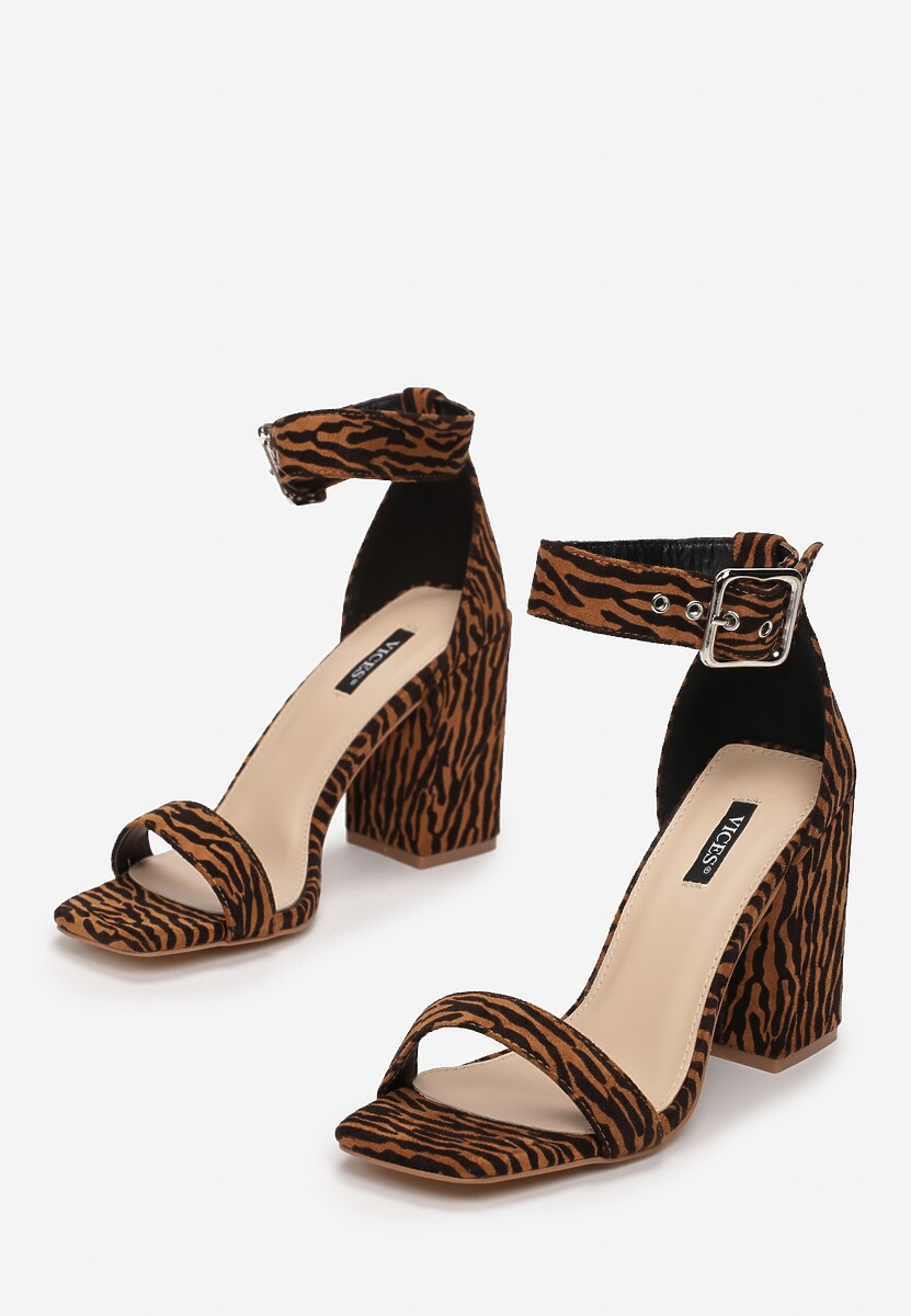 Brązowe Sandały Limotea