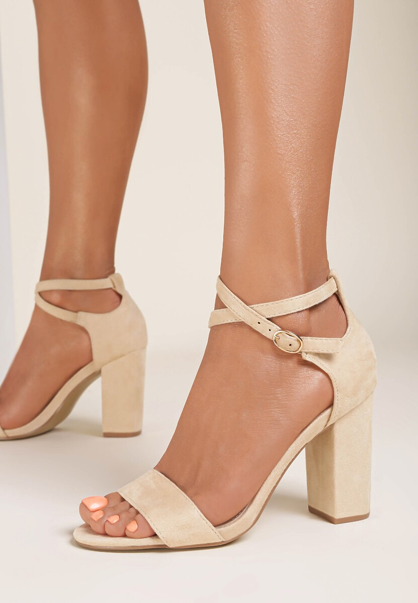 Beżowe Sandały Nonarose