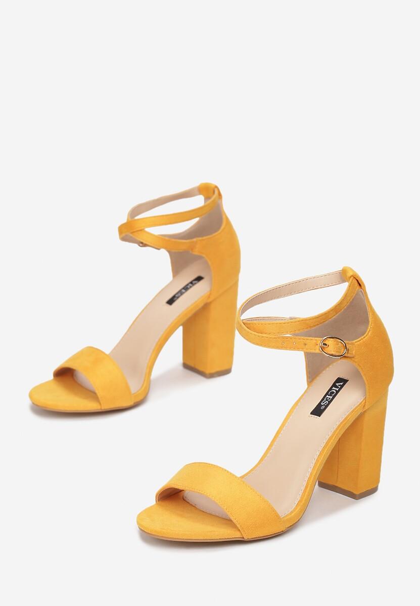 Żółte Sandały Nonarose