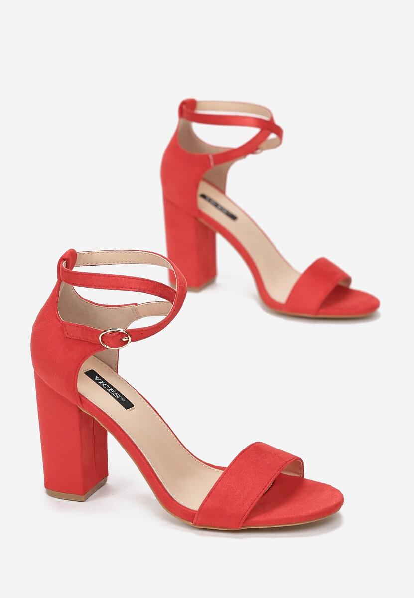 Czerwone Sandały Nonarose