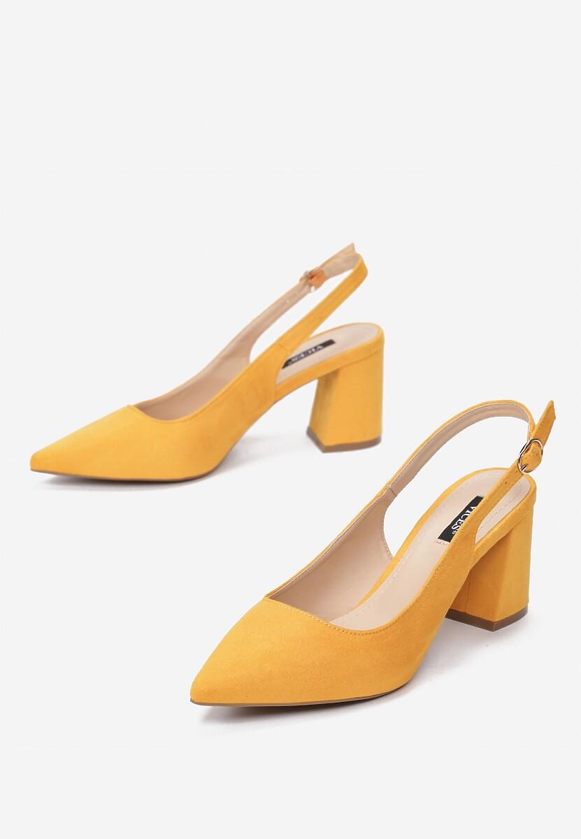 Żółte Czółenka Phoephine